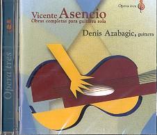 Asencio, Vicente: Obras completas para guitarra CD