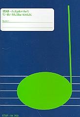 Aufgabenheft DIN A6: Stundenplan, Honorarquittungen, 32 Seiten