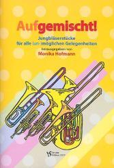 Aufgemischt für Jungbläser (Blechbläser-Ensemble), Spielpartitur