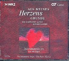 Aus meines Herzens Grunde 3 CD's (Instrumentalversion)