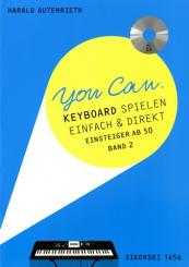 Autenrieth, Harald: You can Band 2 (+CD) für Keyboard