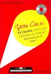 Autenrieth, Harald: You Can Band 1 (+CD) für Keyboard