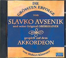 Avsenik, Slavko: Die größten Erfolge von Slavko Avsenik gespielt auf Akkordeon CD