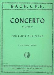Bach, Carl Philipp Emanuel: Concerto G major for flute and piano