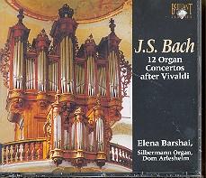 Bach, Johann Sebastian: 12 Orgelkonzerte nach Vivaldi CD