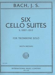 Bach, Johann Sebastian: 6 Cello Suites for trombone solo