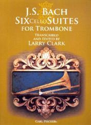 Bach, Johann Sebastian: 6 Cello Suites for trombone