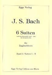 Bach, Johann Sebastian: 6 Suiten Band 1 (Nr.1-3) für Englischhorn