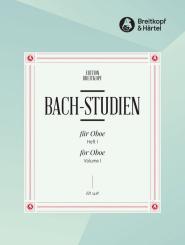 Bach, Johann Sebastian: Bach-Studien Band 1 (Nr.1-17) für Oboe
