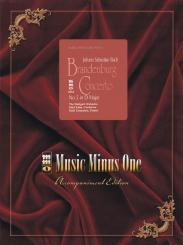 Bach, Johann Sebastian: Brandenburgisches Konzert D-Dur Nr.5 BWV1050 (+CD) für Klavier