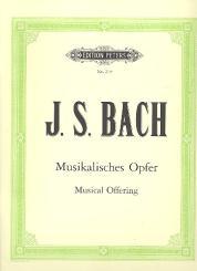 Bach, Johann Sebastian: Das musikalische Opfer BWV1079 für Kammerorchester, Partitur