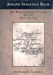 Bach, Johann Sebastian: Das wohltemperierte Klavier Band 2 BWV870-BWV893 Faksimile Din A4