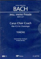 Bach, Johann Sebastian: Jesu meine Freude BWV227 - Chorstimme Tenor Playalong-CD