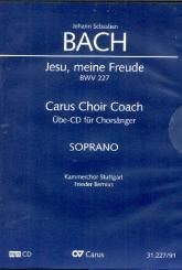Bach, Johann Sebastian: Jesu meine Freude BWV227 - Chorstimme Sopran Playalong-CD
