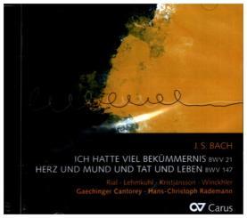 Bach, Johann Sebastian: Kantaten BWV21 und BWV147 CD