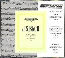 Bach, Johann Sebastian: Sonaten Band 2 für Flöte / Bc CD mit der Begleitung zur Solostimme