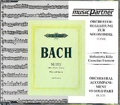 Bach, Johann Sebastian: Suite b-Moll  für Flöte und Klavier CD Begleitung zur Solostimme