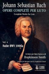 Bach, Johann Sebastian: Suite BWV1006a für Barocklaute