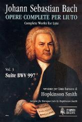Bach, Johann Sebastian: Suite BWV997 für Barocklaute