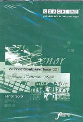 Bach, Johann Sebastian: Weihnachtsoratorium - Tenor solo Playalong-CD's