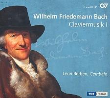 Bach, Wilhelm Friedemann: Claviermusik Band 1 CD