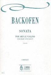 Backofen, Johann Georg Heinrich: Sonate für Violine und Harfe