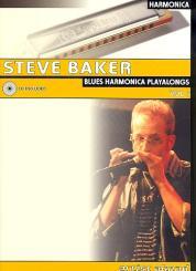 Baker, Steve: Blues Harmonica Playalongs Band 1 (+CD) (dt)