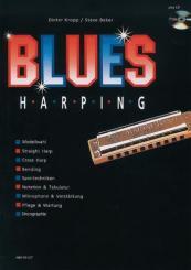 Baker, Steve: Blues Harping Band 1 (+CD) für Mundharmonika (dt)