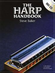 Baker, Steve: The Harp Handbook (+CD, dt) Anleitung für diatonische Mundharmonika