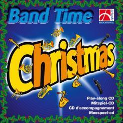 Band Time Christmas Playalong-CD für Blasorchester