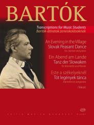 Bartók, Béla: Ein Abend am Lande für Klarinette und Klavier