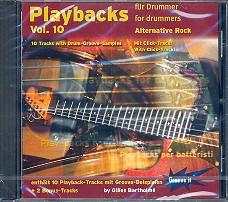 Bartholmé, Gilles: Playbacks for Drummer vol.10 CD Alternative Rock