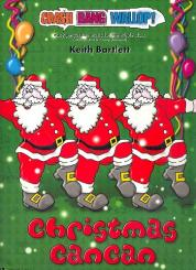Bartlett, Keith: Christmas Can Can (+CD) for percussion ensemble and piano, score and parts