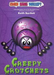 Bartlett, Keith: Creepy Crotchets (+CD) for percussion ensemble and piano, score and parts