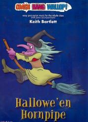 Bartlett, Keith: Hallowe'en Hornpipe (+CD) for percussion ensemble and piano, score and parts