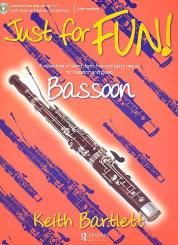 Bartlett, Keith: Just for fun (+CD) for bassoon and piano