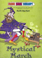 Bartlett, Keith: Mystical March (+CD) for percussion ensemble and piano, score and parts