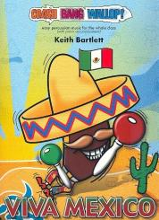 Bartlett, Keith: Viva Mexico (+CD) for percussion ensemble and piano, score and parts