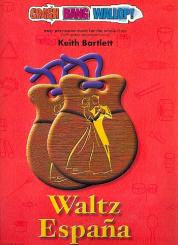 Bartlett, Keith: Waltz Espana (+CD) for percussion ensemble and piano, score and parts