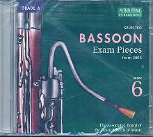 Bassoon exam pieces grade 6 CD Complete syllabus from  2006