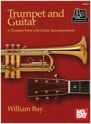 Bay, William: Trumpet and Guitar (+Online Audio) for trumpet and guitar, score and part