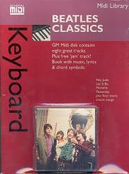 Beatles Classics Midi Keyboard Library Songbook for keyboard with, Midi Disk