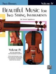 Beautiful Music vol.4 for 2 string instruments (piano ad lib), bass score