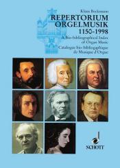 Beckmann, Klaus: Repertorium Orgelmusik 1150-1998 Komponisten Werke Editionen (geb)