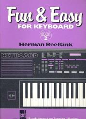 Beeftink, Herman: Fun and easy vol.2 for keyboard