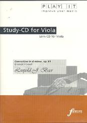 Beer, Leopold Joseph: Concertino d-Moll op.81 für Viola und Klavier Playalong-CD