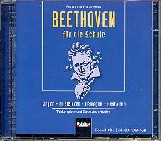 Beethoven für die Schule 2 CD's Tonbeispiele und Zusatzmaterialien