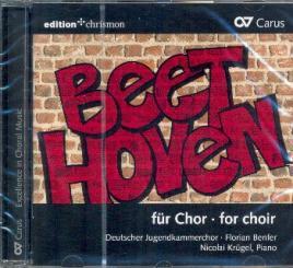 Beethoven, Ludwig van: Beethoven für Chor für gem Chor a cappella (z.T. mit Klavier), CD