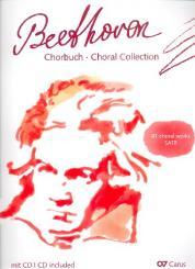 Beethoven, Ludwig van: Chorbuch (+CD - Info siehe Inhalt): für gem Chor (z.T. mit Tasteninstrument), Partitur / Chorleiterband