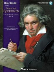 Beethoven, Ludwig van: Concerto on G Major Nr.4 op.58 for piano and orchestra (+2 CD's), for 2 pianos,  score